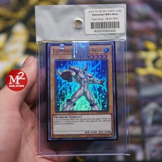 Thẻ bài YUGIOH Elemental HERO Neos - ULTRA RARE (Tặng bọc bài nhựa bảo quản) thumbnail
