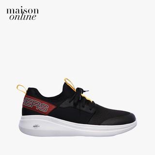 SKECHERS - Giày sneaker nam thắt dây GoRun Fast Steadfast 55109-BKMT