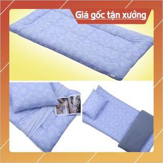 nệm bông trải sàn, nệm giường tầng xuất nhật siêu êm, siêu gọn ( size: 1m x 2m x10cm ) giá sinh viên