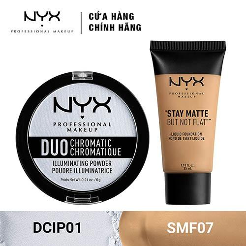 Bộ đôi Phấn bắt sáng & Kem Nền Trang Điểm NYX Professional Makeup (DCIP01 + SMF07) _ TUNX00039CB - 3447001 , 1307089441 , 322_1307089441 , 540000 , Bo-doi-Phan-bat-sang-Kem-Nen-Trang-Diem-NYX-Professional-Makeup-DCIP01-SMF07-_-TUNX00039CB-322_1307089441 , shopee.vn , Bộ đôi Phấn bắt sáng & Kem Nền Trang Điểm NYX Professional Makeup (DCIP01 + SMF07