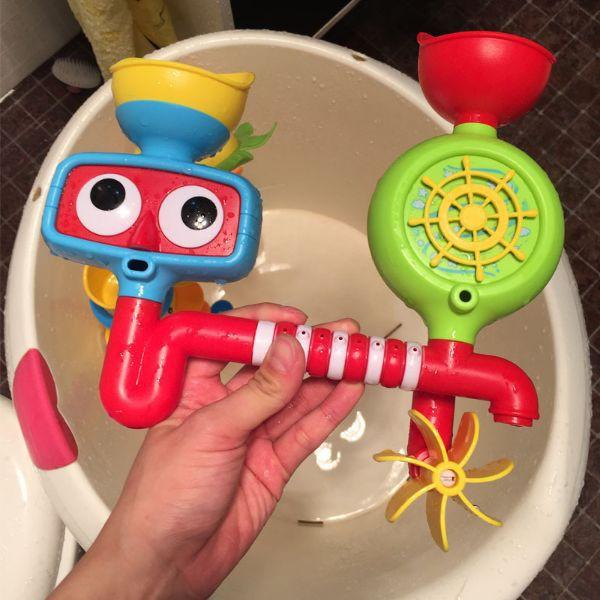 Đồ chơi nhà tắm - Khung xoay nước