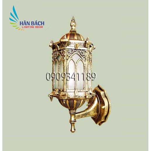 Đèn chùa,đèn gắn cột,đèn sân vườn,đèn vách ngoài trời HABALI