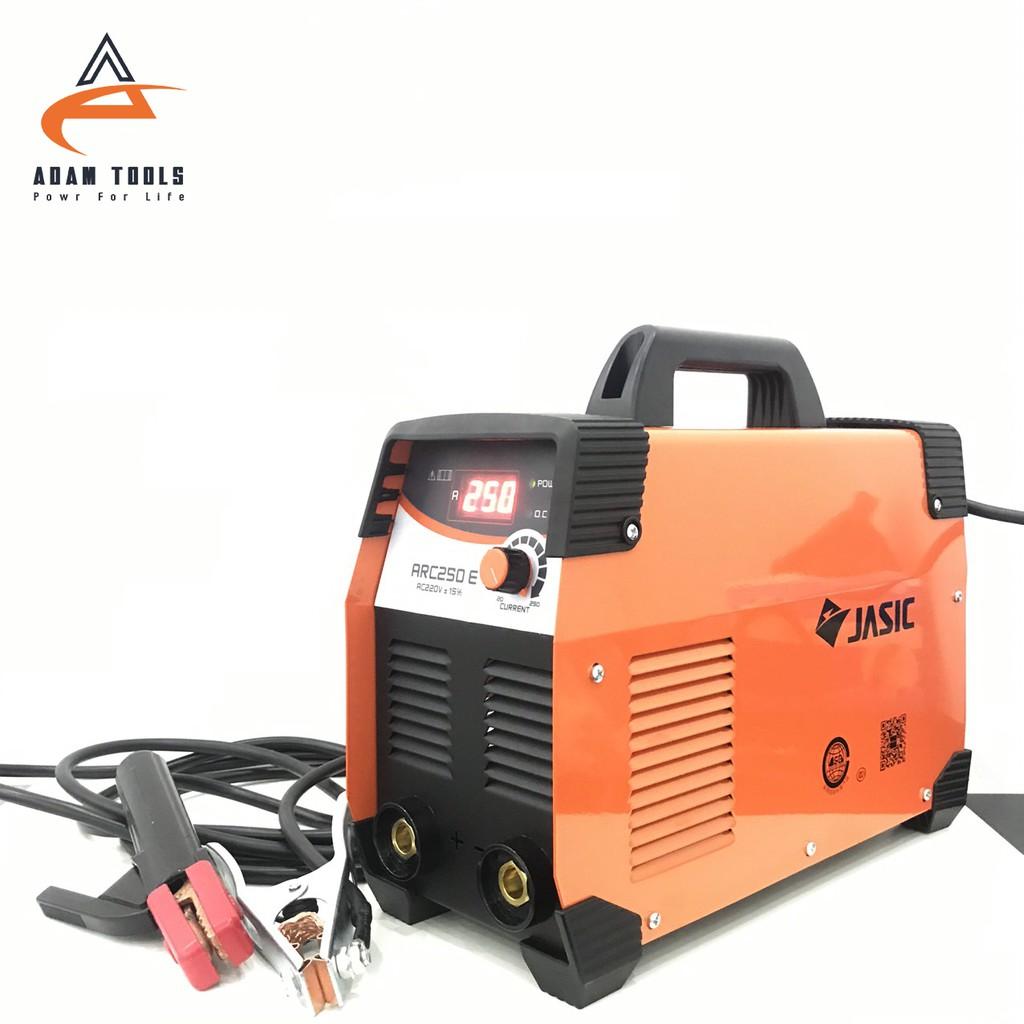 Máy hàn Inveter JASIC ARC -250A - hàn que 4 ly liên tục - bảo hành
