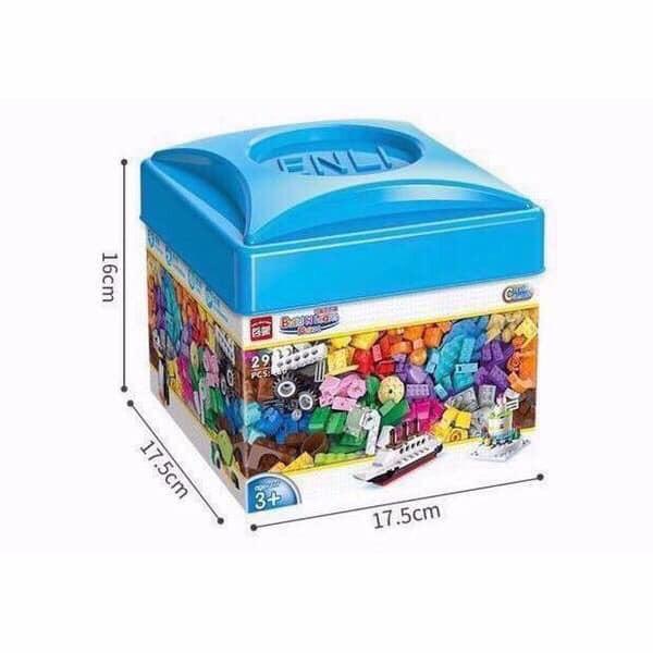 Bộ Lego Hộp Vuông 460 Chi Tiết