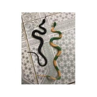 rắn giả cao su