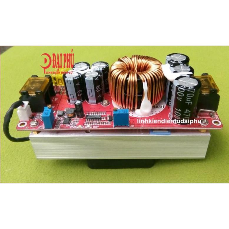 Mạch tăng áp DC - DC 1500w 30A có led báo nguồn
