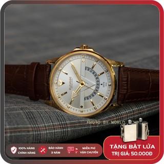 Đồng hồ nam Sunrise DM1116SWA full hộp, thẻ BH 3 năm, kính sapphire chống xước, chống nước