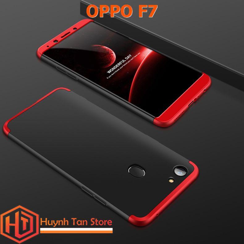OPPO F7 _ ỐP GKK 3 mảnh ghép bảo vệ cả 2 mặt trước
