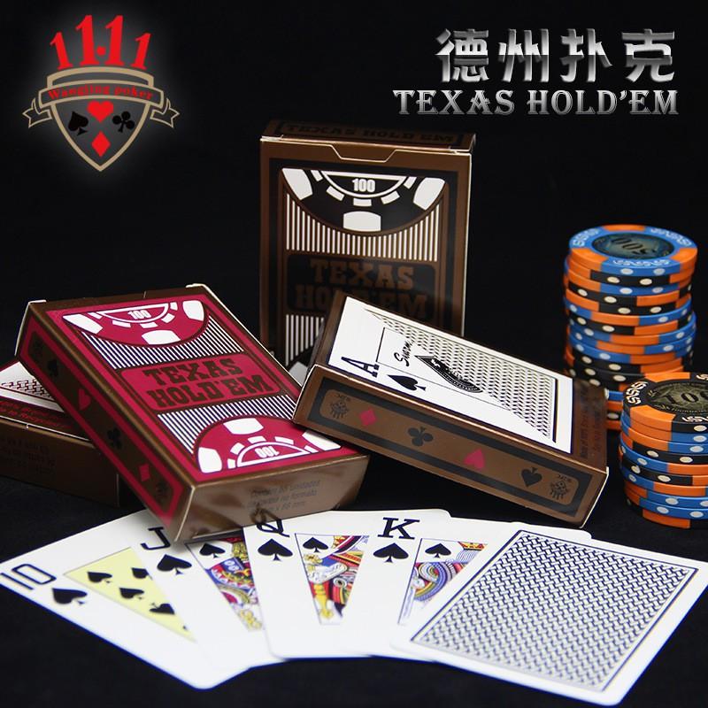 Bộ Bài Tây Poker nhựa Texas Holdem Swarm cao cấp siêu bền chống nước