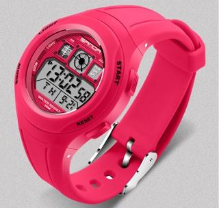 Đồng hồ cho bé gái trẻ em học sinh SANDA 331 chống nước tốt (Hồng) thumbnail