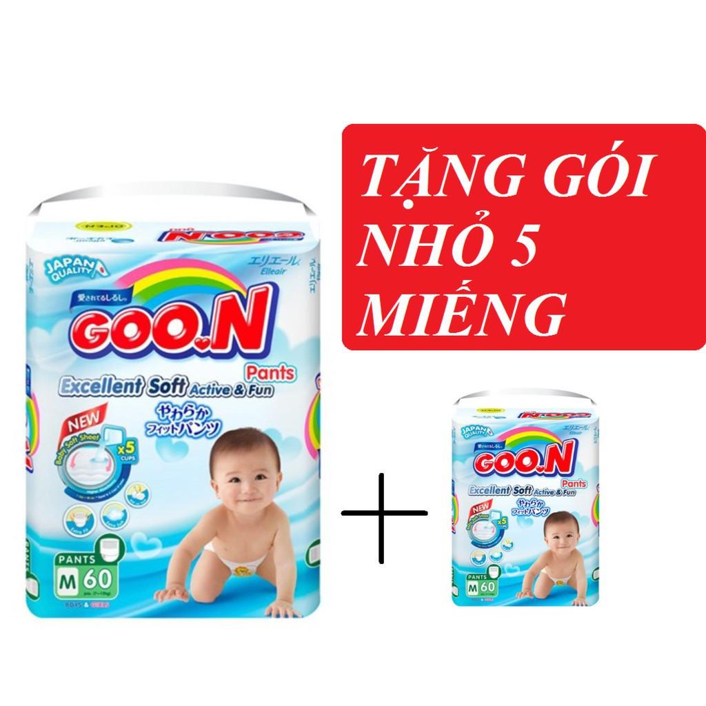 (Nguyen tem)Bỉm Goon slim đại đủ size dán M66/L56/XL50 quần M60/L48/XL42/XXL34