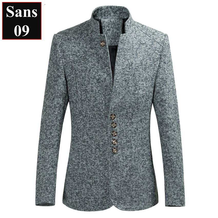 Áo Khoác Dạ Nam Áo Dạ Nam Dáng Ngắn Sans09 Sans Shop