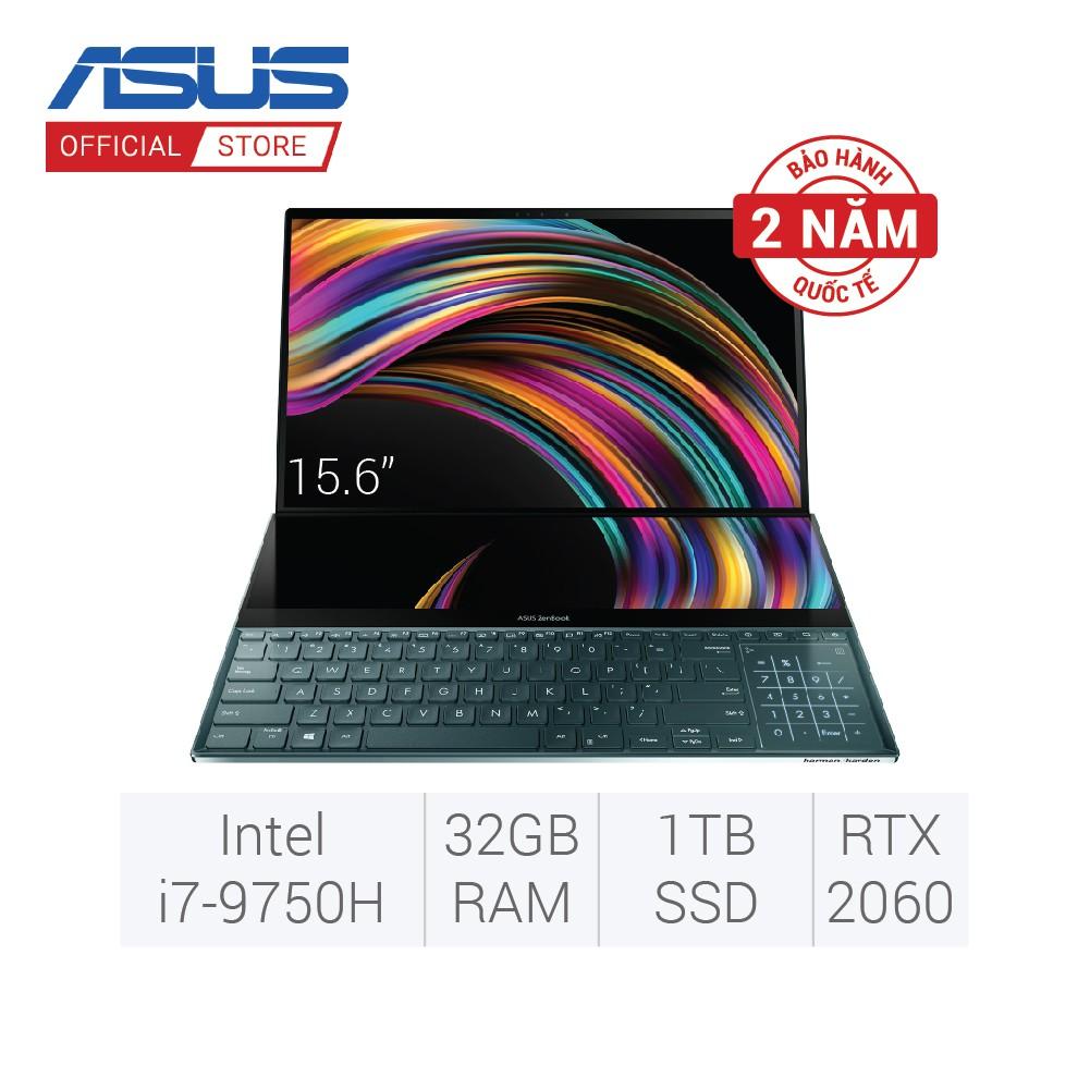 Laptop Asus ZenBook Pro Duo UX581GV-H2029T (Intel® Core™ i7-9750H Gen...