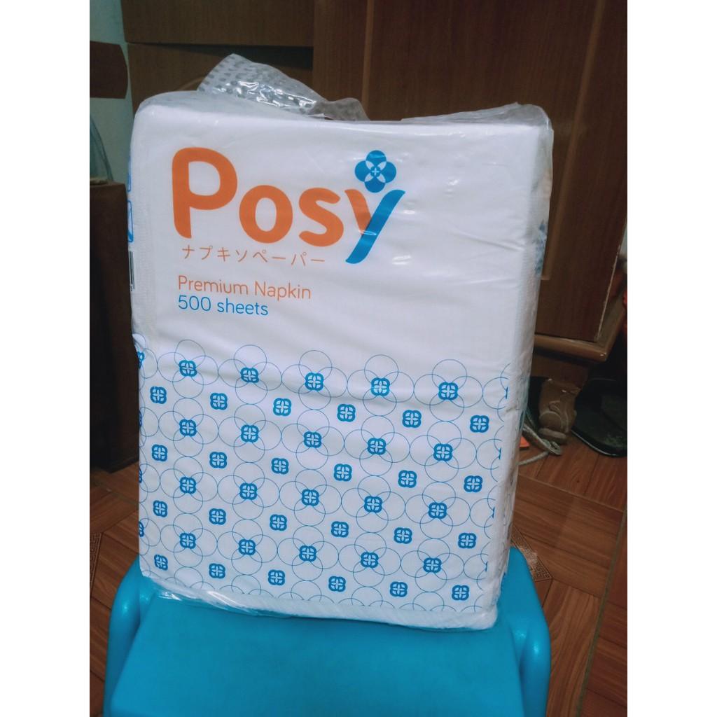 Khăn ăn Posy 500 tờ -330 x330 mm (1KG)