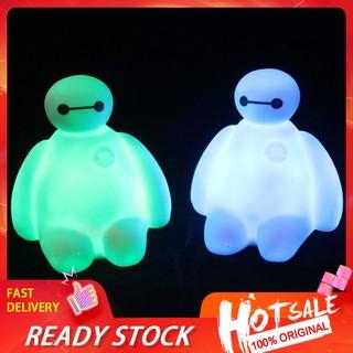 LP☆Cartoon Baymax LED Night Light Color Change Lamp Kids Children Bedroom Xmas Gift