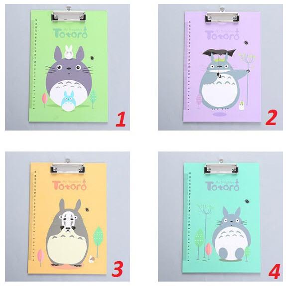 Bìa kẹp file tài liệu A4 hình Totoro [anhutpd]