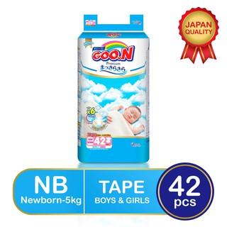 Tã dán Sơ Sinh Goon Premium Size NB42 S36 Miếng. thumbnail