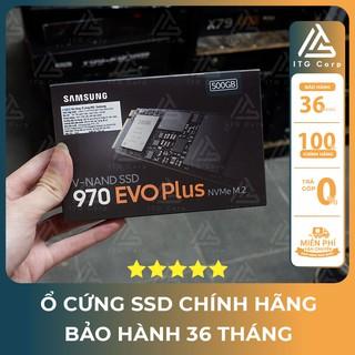 Ổ cứng SSD Samsung 970 EVO Plus 500GB M.2 PCIe NVMe 3×4