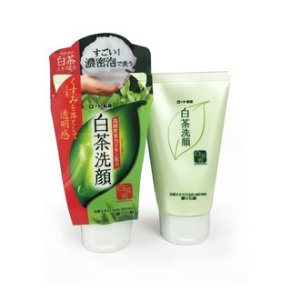 Sữa rửa mặt trà xanh Nhật Shirochasou Green Tea Foam cho da dầu mụn thumbnail