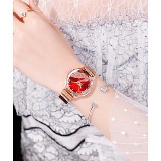 Đồng hồ thời trang nữ SHSHD dây lưới nam châm S7J