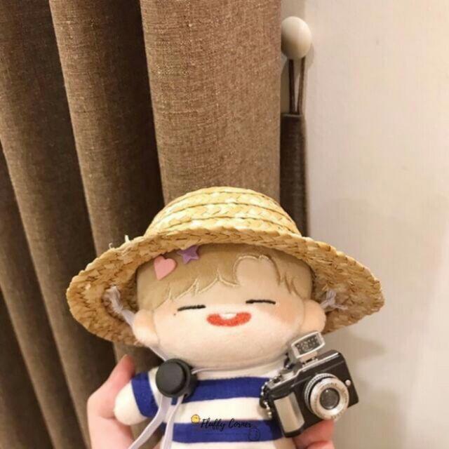 Mũ rơm cho doll