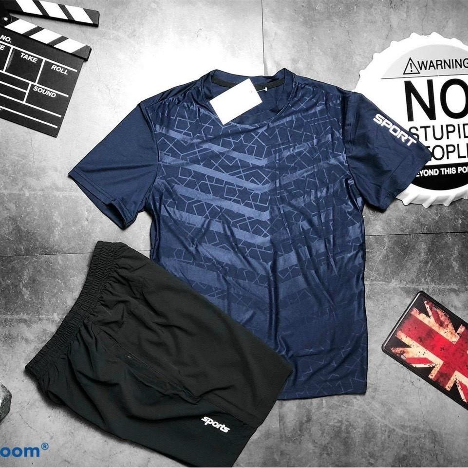 Mặc gì đẹp: Gọn tiện với Đồ bộ thể thao nam BARTI , thoáng mát mặc ở nhà và chơi thể thao trẻ trung nam tính