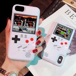 Ốp điện thoại tích hợp máy chơi game cổ điển cho iphone 11 pro max X 8 7 6 6s Plus XS MAX 12 pro