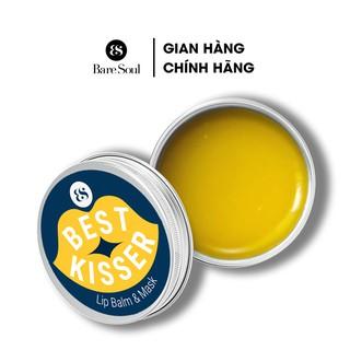 Son dưỡng không màu kiêm mặt nạ ngủ môi BareSoul Best Kisser Lip Balm & Mask hộp 10g thumbnail