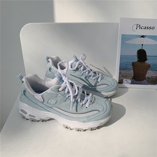 Retro Shoes Femaleins-2021Shoes for Spring New Versatile Casual Girly Girl Sneakers Platform