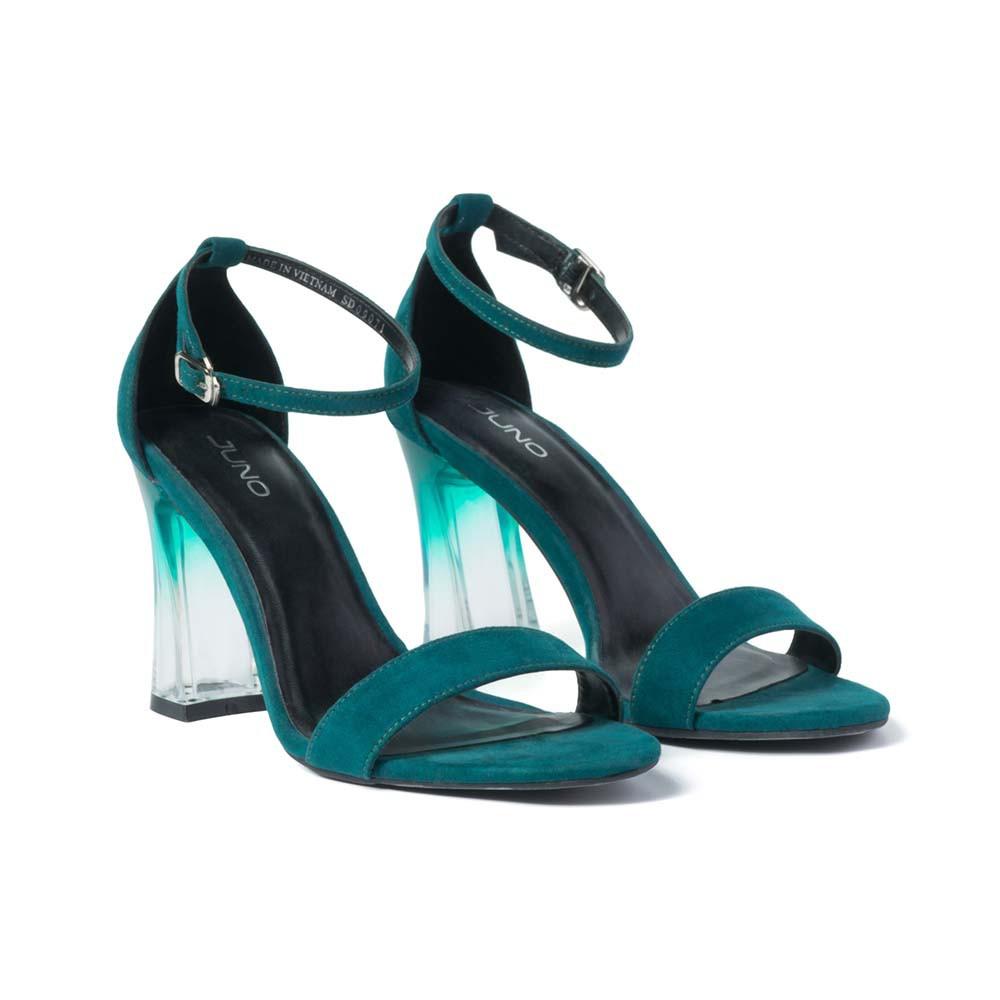 Juno - Giày sandal gót vuông chuyển màu SD