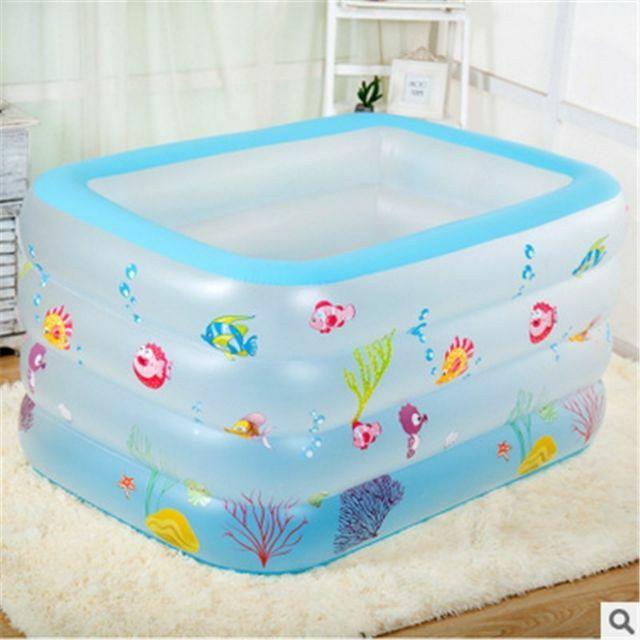 Bể bơi Intex 4 tầng 140x100x75 cm
