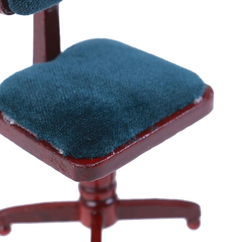 ★ƯU ĐÃI ★1:12 Dollhouse miniature furniture computer chair for dollshouse accessories