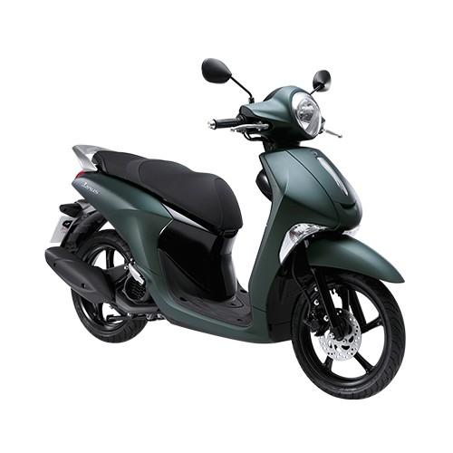 Xe Yamaha Janus Premium 2018 (Xanh Lục Bảo) + Tặng nón bảo hiểm, áo mưa, móc khóa xe