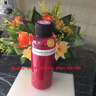 Mực không phai Pigment UV 100ml ( Đỏ ) thumbnail