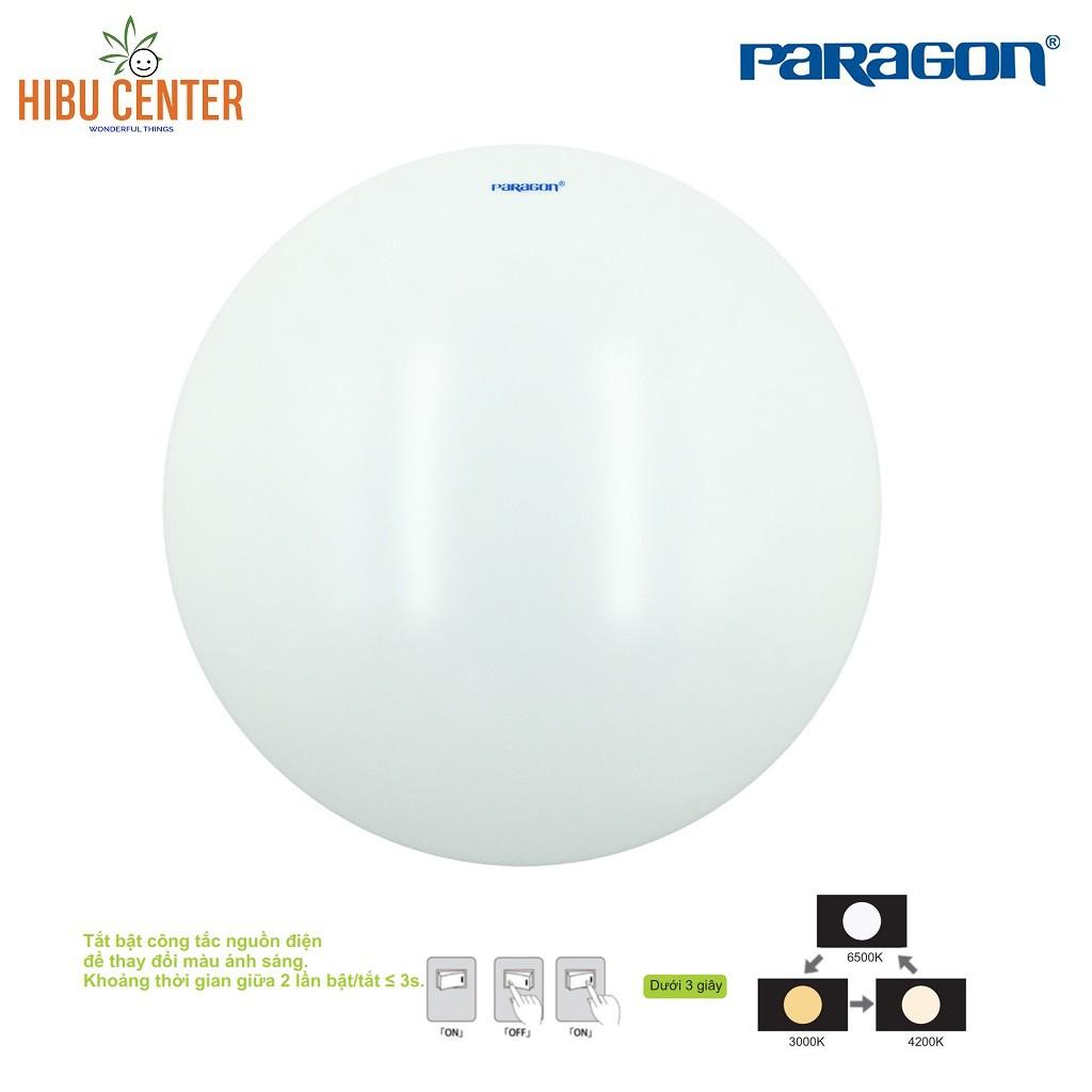 Đèn LED Ốp Trần (Tròn/ Vuông) Đổi Màu Paragon (PLCA/ PLCQ/ PLCK Series) - 12W/ 18W – Hàng Chính Hãng - HIBUCENTER