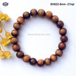 Vòng tay 8ly gỗ Tô Hợp Bách dành cho nữ - mùi thơm ngọt gỗ vân đẹp FREESHIP đơn 50k [BH622-8] HAHANCO thumbnail