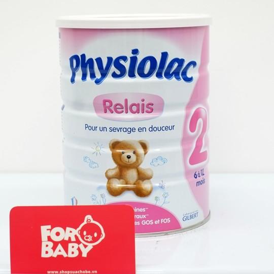 Sữa bột Physiolac Relais 2 900g - 3179951 , 271016953 , 322_271016953 , 390000 , Sua-bot-Physiolac-Relais-2-900g-322_271016953 , shopee.vn , Sữa bột Physiolac Relais 2 900g
