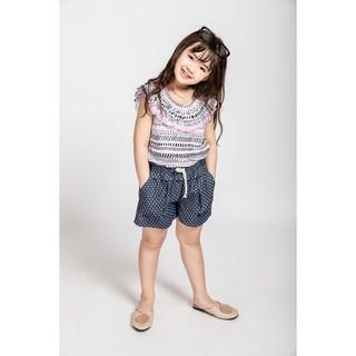 Quần Sooc Jeans Bé Gái Họa Tiết ( 2-11 Tuổi) Jookyli