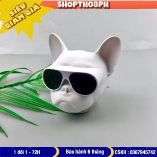 Loa bluetooth mini đầu chó Bull L1 nghe nhạc cực hay pin sạc dùng lâu màu sắc cá tính chống thấm nước tốt hỗ trợ thẻ nhớ thumbnail