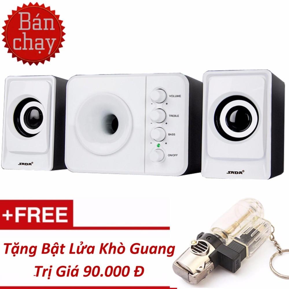 Bộ Loa Máy Tính USB SADA D-205 + Tặng Kèm BL Khò Guang