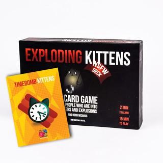 [Free Ship] Combo Exploding Kittens 18+ và bản mở rộng Timebomb Kittens