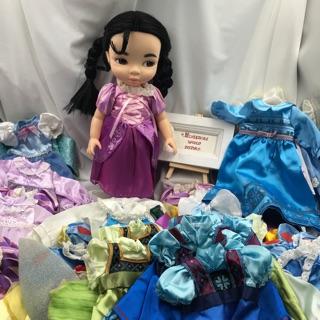Váy công chúa búp bê Animator. Váy búp bê ani. thumbnail