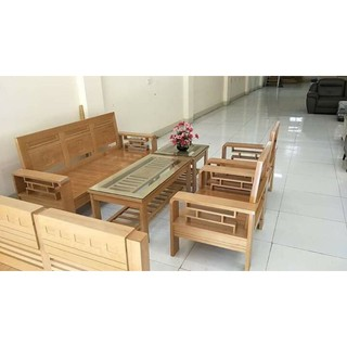bộ bàn ghế gỗ tự nhiên.