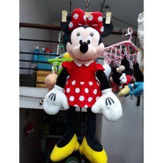 Gấu bông chuột Minie size bự 80cm đẹp, sạch,thơm trang trí cửa hàng, phòng bé tuyệt cú mèo😘