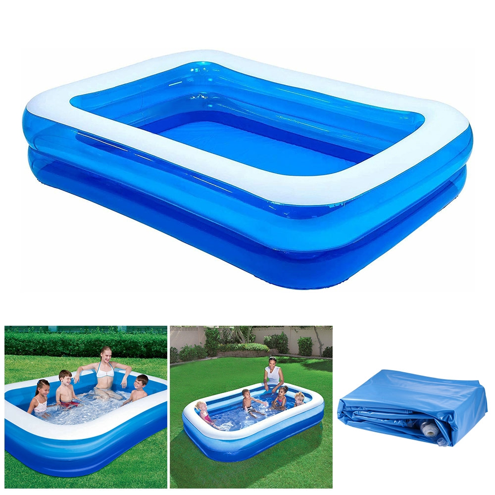 Square Inflatable Swimming Pool Dry Pool Swimmingpool Accessories Family Lounge Pool Small Indoor Outdoor Swimming Pool