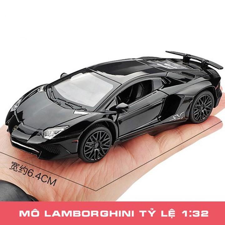 Xe Mô Hình Lamborghini Aventador Tỷ Lệ 1:32 - Mô Hình Xe Oto