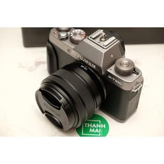 Máy ảnh Fujifilm X-T100 + Kit 15-45mm F/3.5-5.6 OIS PZ (Gold)