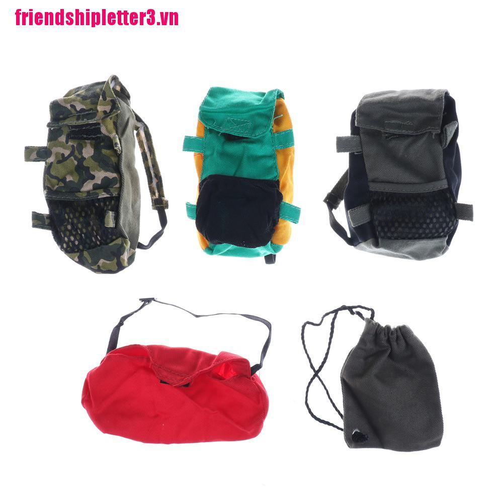 FS3VN Doll Army Knapsack Marines Bag For 1/6 Barbie Boy Male Ken Doll Accessories Gift