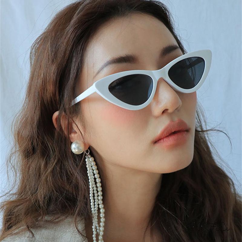 Kính Mát Mắt Mèo Nhỏ Phong Cách Hip Hop Dành Cho Nữ K2