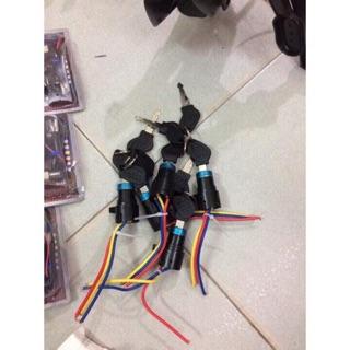Khoá điện lẻ dành cho xe đạp điện 2 yên, xe 133M, Xmen thumbnail
